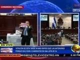 Así voto el diputado Esdras amado López en elección de la corte
