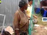 Jóvenes hondureños cambian la imagen de un indigente