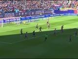 El Atlético de Madrid gana por la mínima y le mete presión al Barça