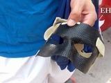 Motagua: Irvin Reyna y la máscara que usará para jugar