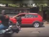 En dos vehículos quedaron las víctimas del atentado en SPS