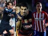 Acá los goles de los punteros de la liga española (36ª jornada)