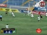 Medio tiempo del encuentro entre Real España vs Platense