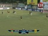 Medio tiempo del encuentro entre Marathón vs Real España