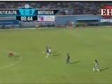 Con este gol de Ramírez el Juticalpa vence a Motagua y pega primero