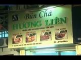 Obama cena por seis dólares con Anthony Bourdain en restaurante en Vietnam