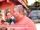 Matan a joven frente a taller en el Hato de Enmedio