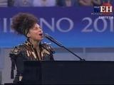 Acá la majestuosa presentación de Alicia Keys en San Siro