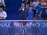 Andrea Bocelli interpreta el himno de la Champions League