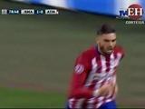 Carrasco anota en el empate para el Atlético de Madrid (1 - 1)
