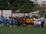 Emotivo encuentro de fútbol marcan escuelas ambientalistas