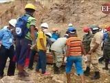 Rescatan los dos cadáveres de obreros soterrados en Cuculmeca