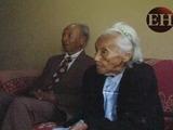 La pareja del centenario con más de medio siglo de amor