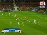 Bélgica golea a Hungría y asegura los cuartos de final