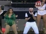 Pitbull y Becky G cierran ceremonia de la Copa América Centenario