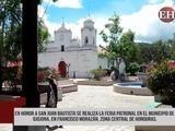 Se realiza la feria patronal de Ojojona en honor a San Juan Bautista