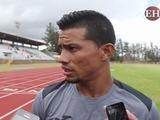Marco Tulio Vega ya entrena con los azules del Motagua