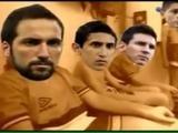 Con la canción de los Cebollitas se burlan de la derrota de Argentina