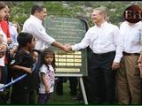 Inauguración del parque La Amistad se convierte en una fiesta deportiva