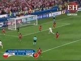 Portugal y Polonia empatan 1 - 1 en la primera mitad