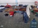 Deplorable alojamiento de becarios de la UNA en Catacamas, Olancho