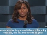 Michelle Obama destroza a Donald Trump y pide no rebajarse