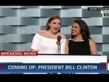 Histórico discurso de hondureña América Ferrera en convención demócrata