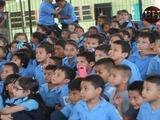 La escuela 4 de junio se suma a la campaña
