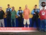 Policía decomisa rastras cargadas con supuesta cocaína