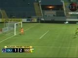 Olimpia está cayendo 2-1 frente al Social Sol en la primera parte