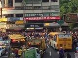 Un Snorlax (pokémon) vuelve un caos las calles de Taiwán