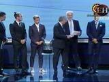 Cristiano Ronaldo, el Mejor Jugador de la Uefa 2015-16