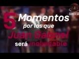 Los Los 5 momentos por los cuales Juan Gabriel será inolvidable