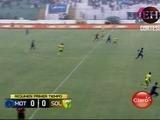 Medio tiempo : Motagua se va al descanso empatando 0-0 frente a Social Sol
