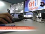 EL HERALDO fue testigo de una intervención del 911