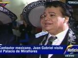 El día que Juan Gabriel le cantó al presidente Nicolás Maduro