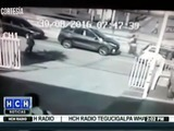Video capta supuesto secuestro en bulevar de la capital de Honduras