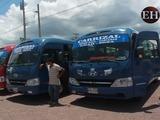 Transportistas realizan plantón en Comayaguela