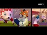 FIFA inicia votación para elegir mascota del Mundial Rusia 2018