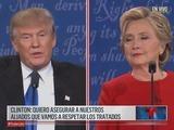 Clinton neutraliza a Trump en primer debate presidencial de la campaña