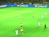 B. Dortmund y Real Madrid empatan a 1 en la primera mitad