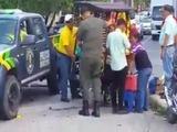 Hondureños reaccionan indignados por acción de agentes de la comuna sampedrana