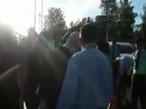 Estudiantes y seguridad privada de la UNAH casi se van a los golpes