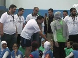 Xavi Hernández visita campo de refugiados en Jordania