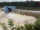 Represa Los Laureles se desborda en la capital de Honduras