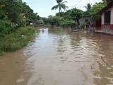 Emergencia en Zona Sur por desborde del río Choluteca