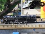 Disturbios entre barristas de Olimpia y Motagua antes del clásico en el Nacional