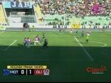 El clásico capitalino finaliza en un empate 1-1 entre Olimpia y Motagua
