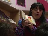 Noelia, la hazaña de ser maestra con síndrome de Down
