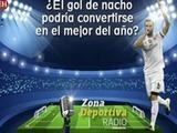 El gol de Nacho podría ser el Premio Puskás para este 2016